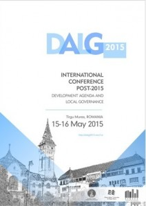 Book of Abstracts - International Conference POST-2015 DEVELOPMENT AGENDA AND LOCAL GOVERNANCE, Tirgu-Mures, 14-15 May, 2015